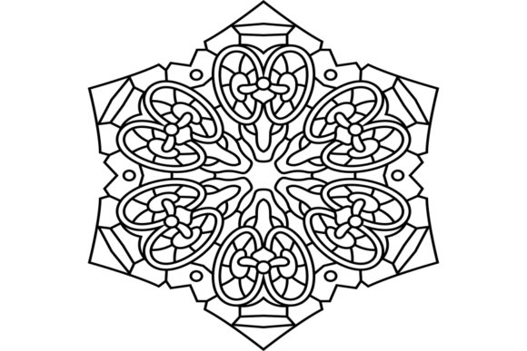 Print on Demand: Beautiful Mandala Design 276 Graphic Coloring Pages & Books Adults By ermannofficial