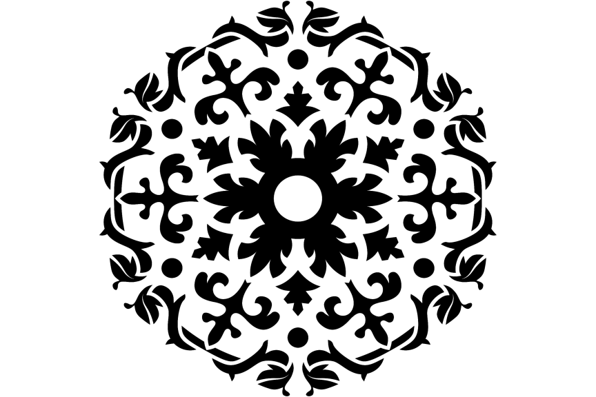 Download Free Beautiful Mandala Design 294 Graphic By Ermannofficial for Cricut Explore, Silhouette and other cutting machines.