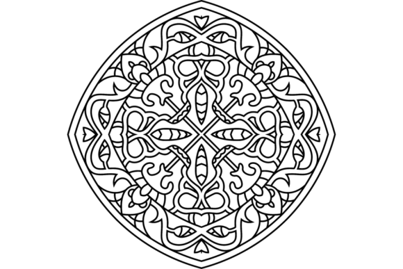 Print on Demand: Beautiful Mandala Design 299 Graphic Coloring Pages & Books Adults By ermannofficial