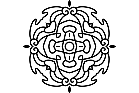 Print on Demand: Beautiful Mandala Design 300 Graphic Coloring Pages & Books Adults By ermannofficial