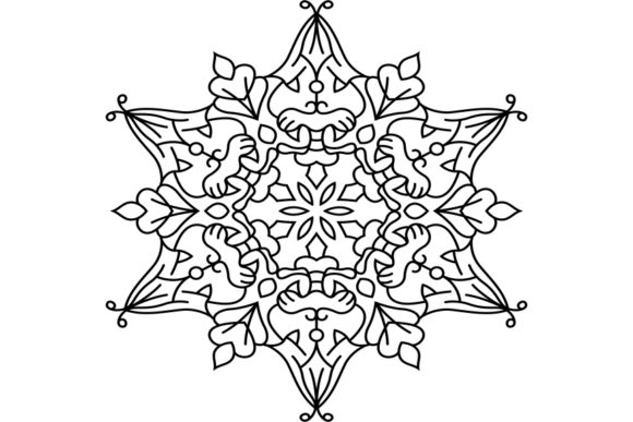 Print on Demand: Beautiful Mandala Design 301 Graphic Coloring Pages & Books Adults By ermannofficial