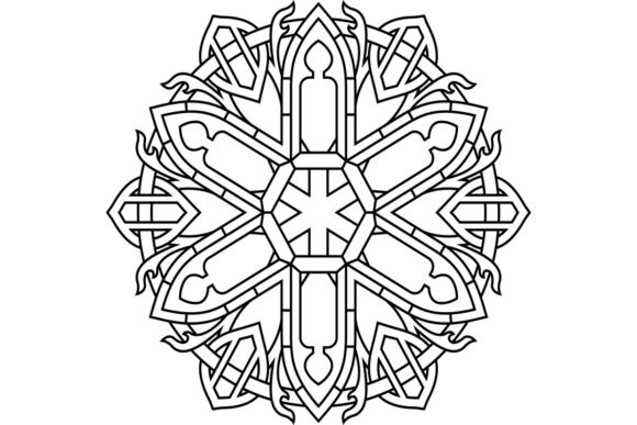 Print on Demand: Beautiful Mandala Design 303 Graphic Coloring Pages & Books Adults By ermannofficial