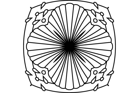 Print on Demand: Beautiful Mandala Design 311 Graphic Coloring Pages & Books Adults By ermannofficial