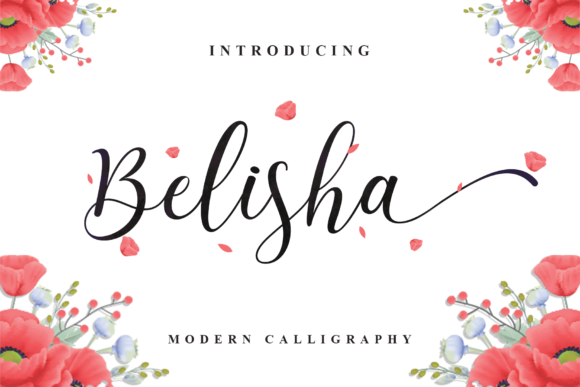 Print on Demand: Belisha Manuscrita Fuente Por MJB Letters