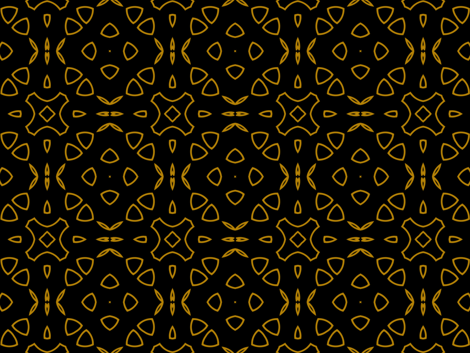 Download Free Black Gold Kaleidoscope Background Graphic By Thisfishingclub for Cricut Explore, Silhouette and other cutting machines.