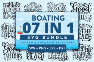 Print on Demand: Boating Bundle Graphic Crafts By OrinDesign 1