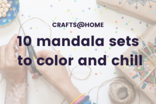 10 mandala sets to color and chill