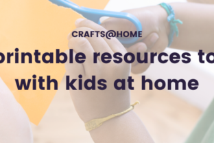 Free printable resources to craft with kids at home