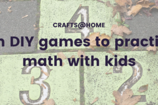 Fun DIY games to practice math with kids