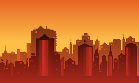 Download Free Illustration Of A City In The Afternoon Graphic By Cityvector91 for Cricut Explore, Silhouette and other cutting machines.
