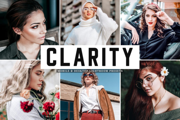 Print on Demand: Clarity Lightroom Presets Pack Graphic Actions & Presets By Creative Tacos