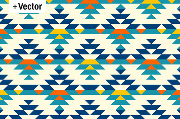 Download Free Colorful Half Aztec Diamonds Pattern Graphic By Dana Du Design for Cricut Explore, Silhouette and other cutting machines.