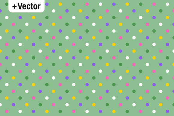Download Free Colorful Spring Polka Dots Pastel Patter Graphic By Dana Du for Cricut Explore, Silhouette and other cutting machines.