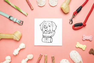Dog Portraits - Coloring Book Graphic Coloring Pages & Books Kids By NataliMyaStore 4
