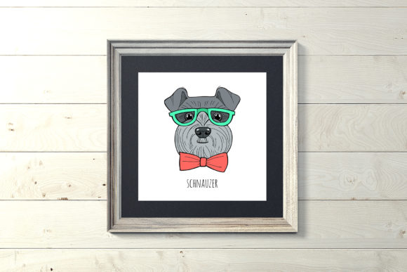 Dog Portraits - Coloring Book Graphic Preview