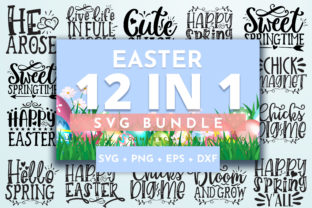 Print on Demand: Easter Bundle Graphic Crafts By OrinDesign