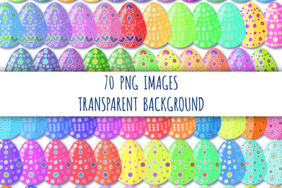 Download Free Easter Eggs Clipart Easter Event Decor Graphic By Bunart for Cricut Explore, Silhouette and other cutting machines.