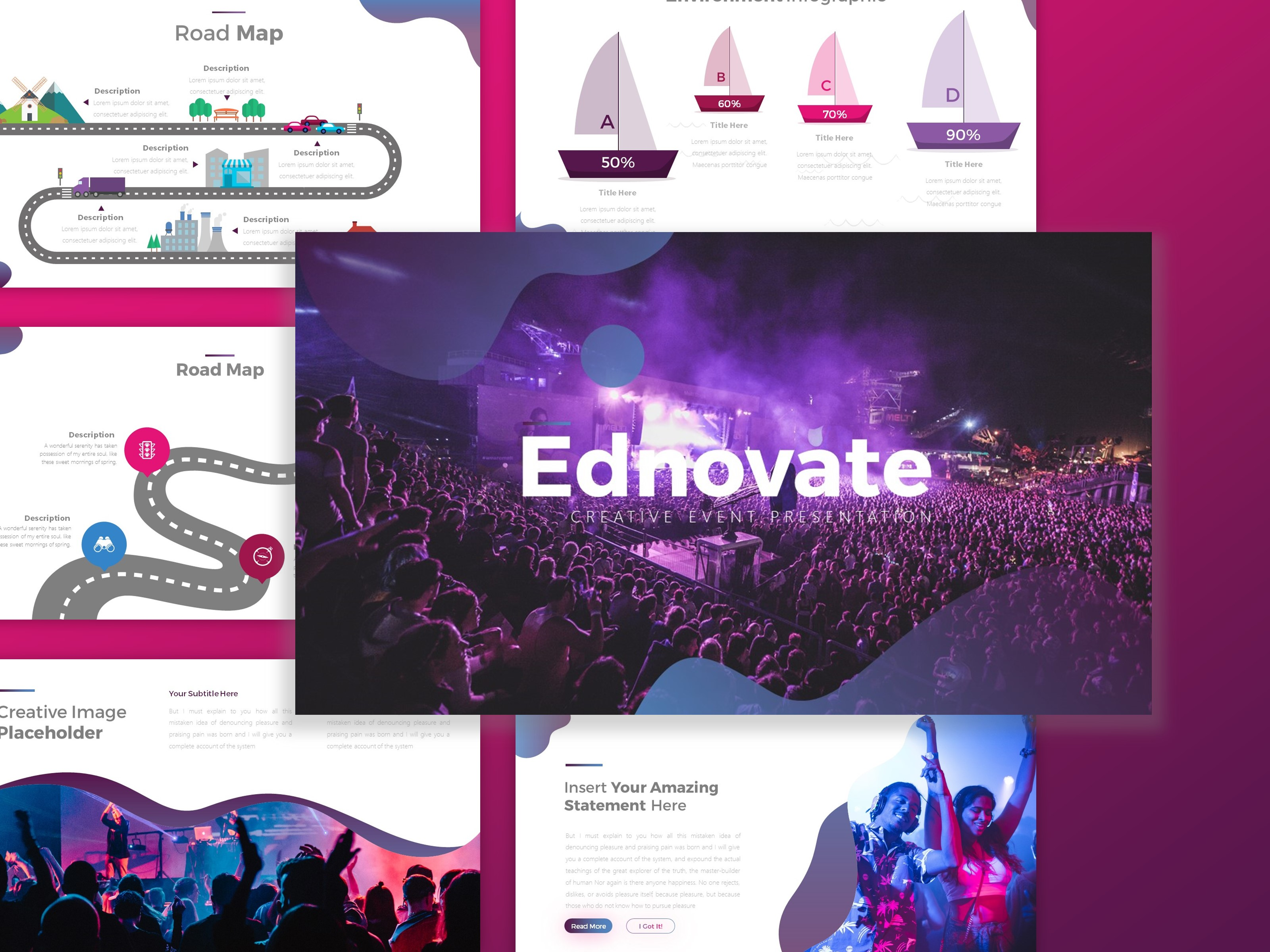 Download Free Ednovate Creative Event Presentation Graphic By Dijimedia for Cricut Explore, Silhouette and other cutting machines.