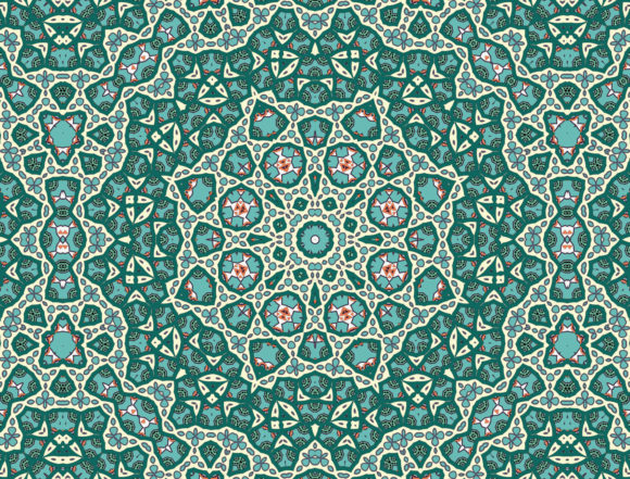 Fractal Abstract Background Graphic Backgrounds By bhagawantastudio