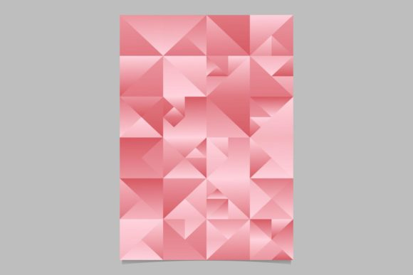 Download Free Gradient Triangle Brochure Background Graphic By Davidzydd for Cricut Explore, Silhouette and other cutting machines.