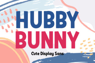 Print on Demand: Hubby Bunny Display Font By almarkhatype