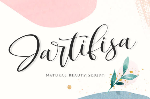 Print on Demand: Jartifisa Script & Handwritten Font By agniardii