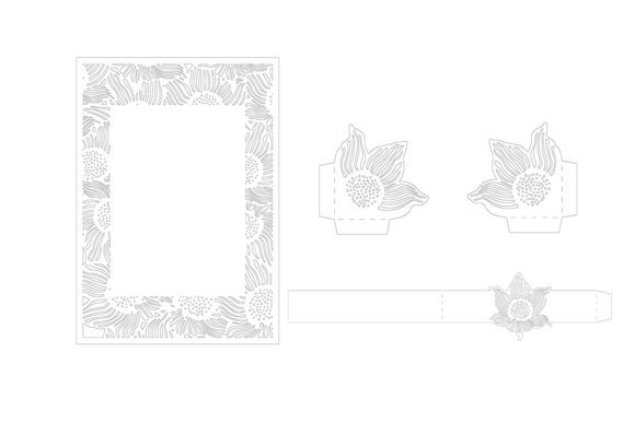 Download Free Laser Cut Wedding Invitation Grafik Von Meshaarts Creative Fabrica for Cricut Explore, Silhouette and other cutting machines.