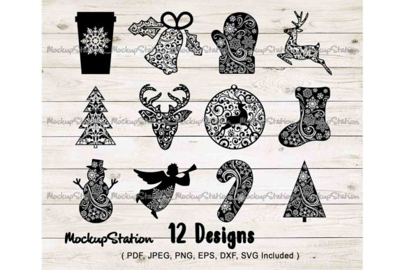 Download Free Mandala Bundle Graphic By Mockup Station Creative Fabrica for Cricut Explore, Silhouette and other cutting machines.