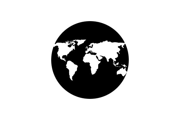 Print on Demand: Planet Earth Icon Graphic Icons By marco.livolsi2014