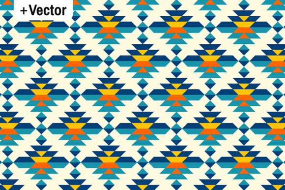 Download Free Rounded Colorful Aztec Diamonds Pattern Graphic By Dana Du for Cricut Explore, Silhouette and other cutting machines.