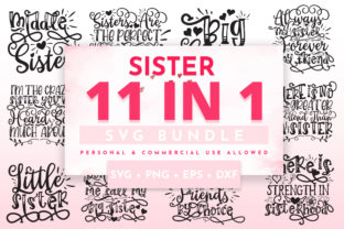 Print on Demand: Sister Bundle Graphic Crafts By OrinDesign
