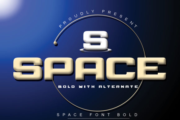Print on Demand: Space Sans Serif Font By jehansyah251
