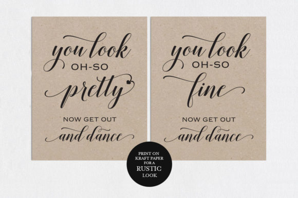 Download Free Wedding Bathroom Signs Shr22 Graphic By Weddingprintables for Cricut Explore, Silhouette and other cutting machines.