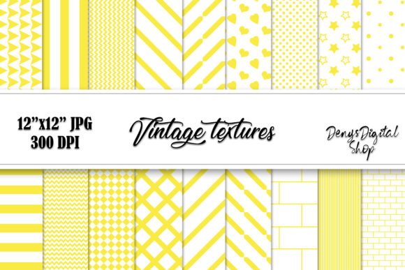 Download Free Yellow Papers Yellow Scrapbook Graphic By Denysdigitalshop for Cricut Explore, Silhouette and other cutting machines.