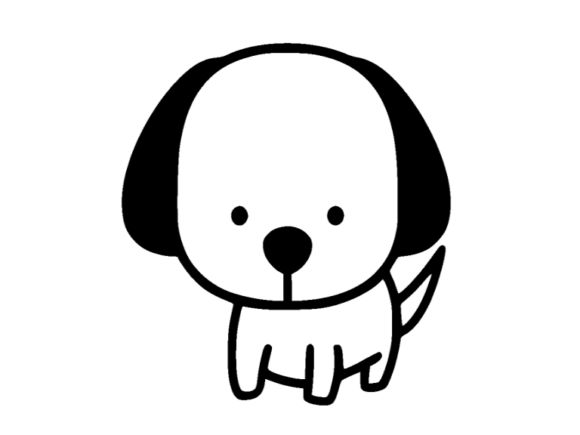 Print on Demand: Dog Icon Graphic Icons By ermannofficial