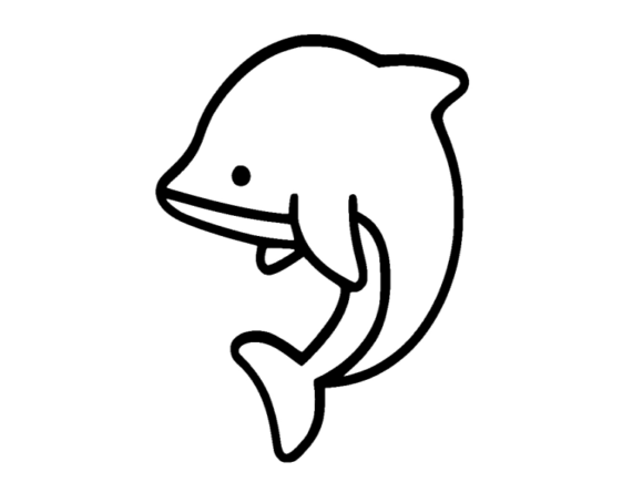 Print on Demand: Dolphin Icon Graphic Icons By ermannofficial