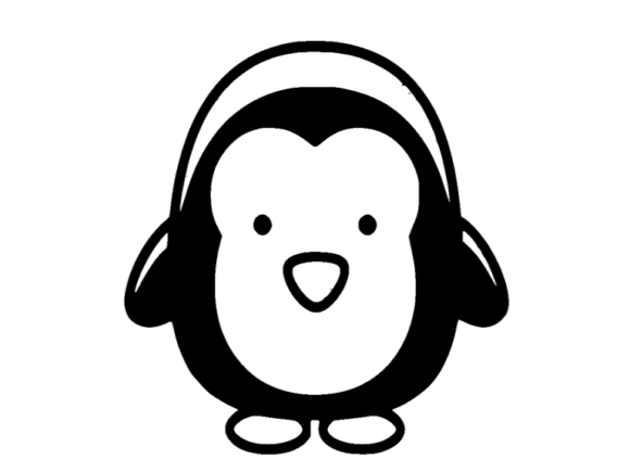 Print on Demand: Penguin Icon Graphic Icons By ermannofficial