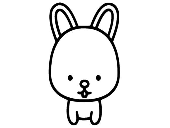 Print on Demand: Rabbit Icon Graphic Icons By ermannofficial