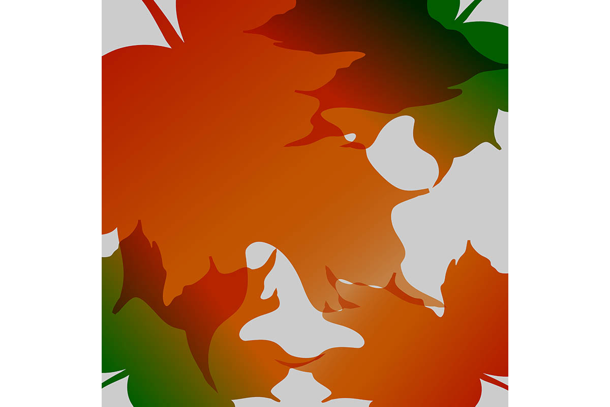 Download Free Autumn Leaf Background Graphic By Yahyaanasatokillah Creative for Cricut Explore, Silhouette and other cutting machines.