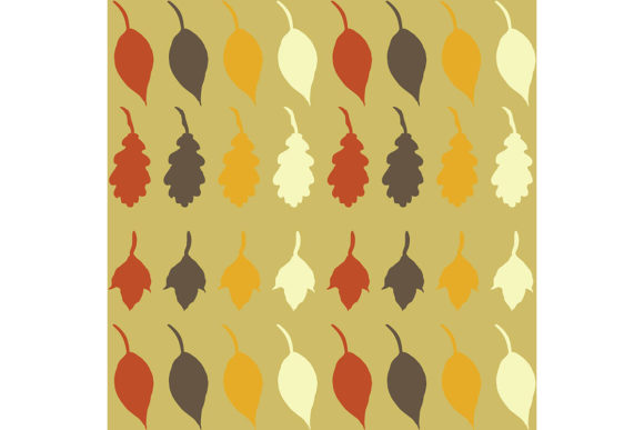 Print on Demand: Autumn Leaf Background Graphic Backgrounds By yahyaanasatokillah