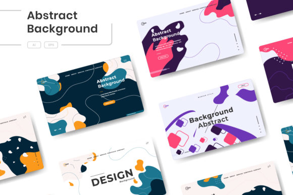 Abstract Trendy Background Graphic Backgrounds By Twiri