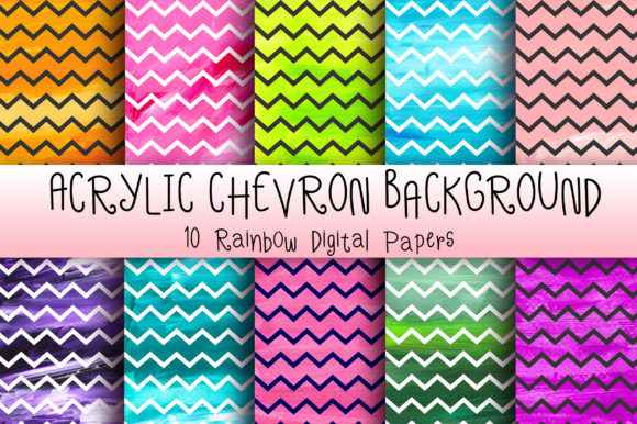 Download Free Acrylic Chevron Background Digital Paper Grafico Por Pinkpearly for Cricut Explore, Silhouette and other cutting machines.