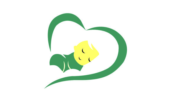 Download Free Baby Cute Baby Care Newborn Logo Graphic By 2qnah Creative for Cricut Explore, Silhouette and other cutting machines.