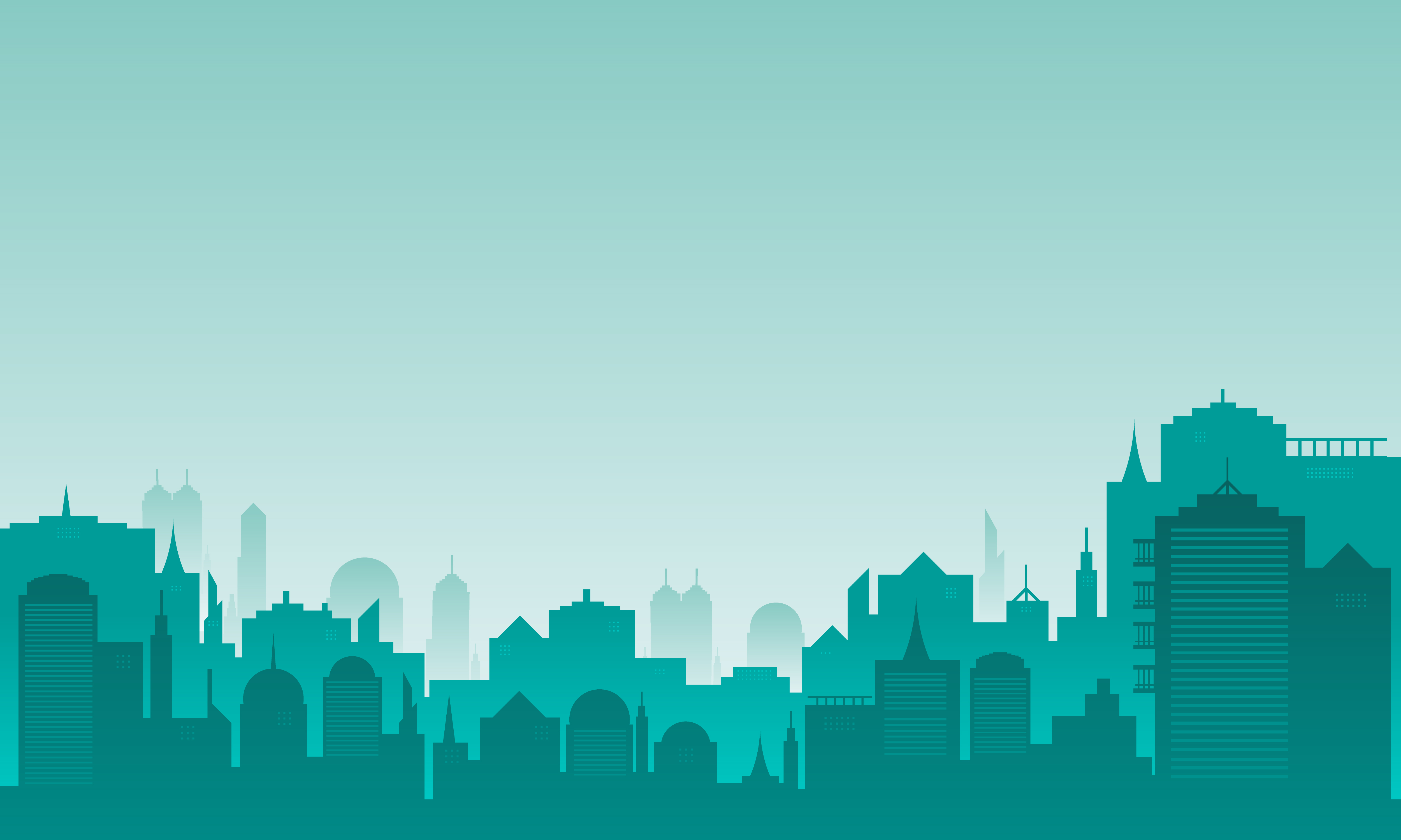Download Free Background City With Many Buildings Graphic By Cityvector91 for Cricut Explore, Silhouette and other cutting machines.