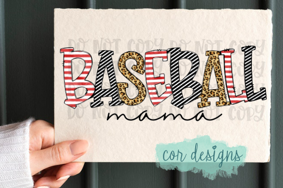 Print on Demand: Baseball Mama Graphic Crafts By designscor