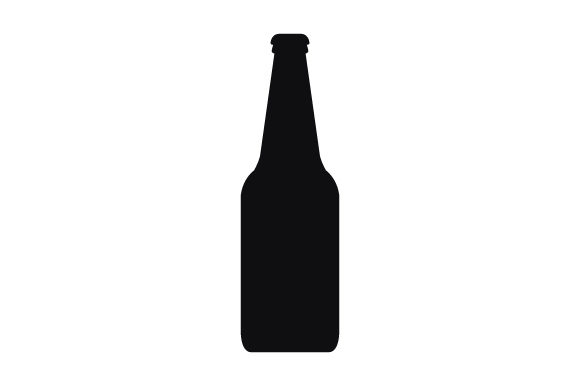 Print on Demand: Beer Bottle Icon Graphic Icons By marco.livolsi2014