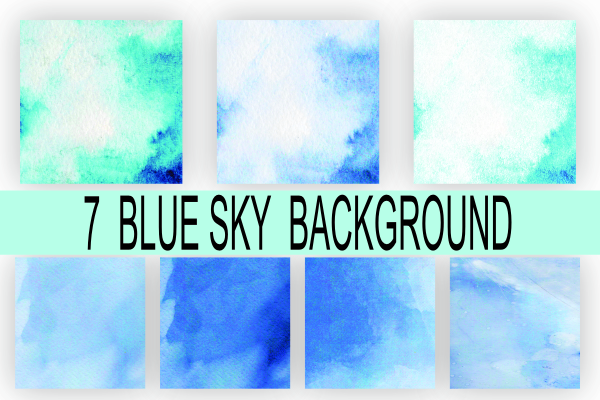 Blue Sky Background Texture Graphic By Rodesigns Creative Fabrica
