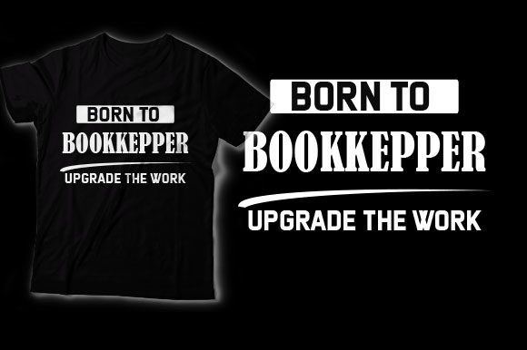 Bookkeepers Graphic Crafts By HASSHOO