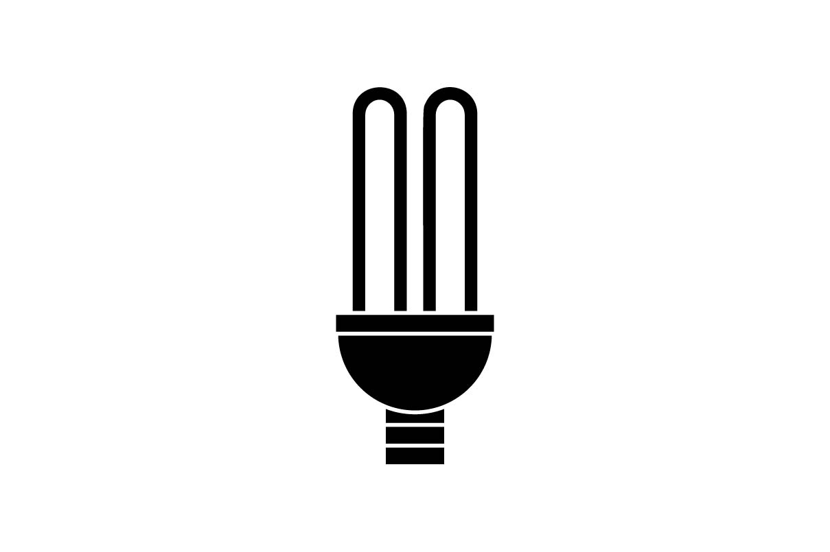Download Free Bulb Lamp Icon Vector Illustration Graphic By Hoeda80 for Cricut Explore, Silhouette and other cutting machines.