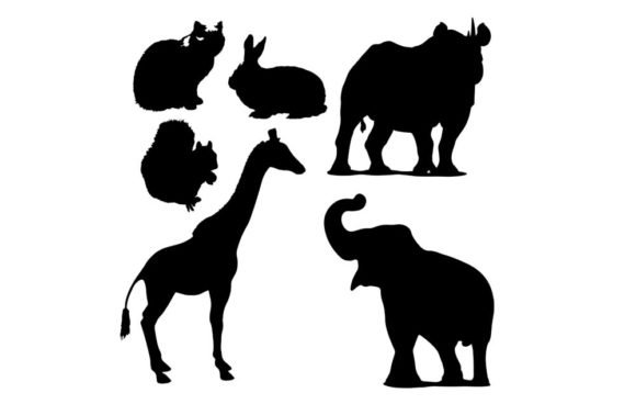 Download Free Bundles Animal Graphic By Vikshangat Creative Fabrica for Cricut Explore, Silhouette and other cutting machines.